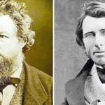 Ruskin y Morris en el Cementerio Inglés